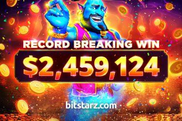 В BitStarz новый рекорд: игрок сорвал 2,4 млн долларов в слоте Azarbah Wishes!
